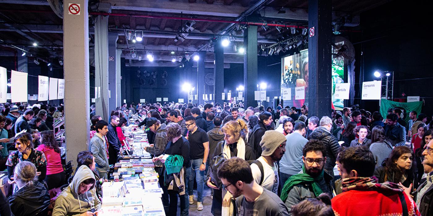 Feria de editores 2019- Matías Moyano