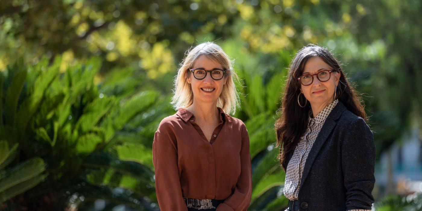 Marcela Serras, directora editorial, y Elisabet Navarro, editora ejecutiva de Paidós.  Autor de la foto: Wijkmarkphoto